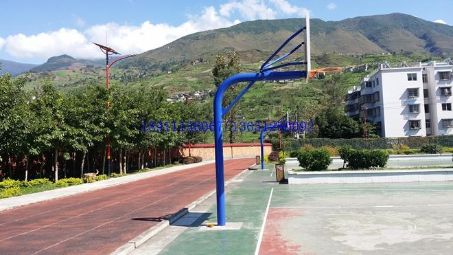 中小学圆管篮球架